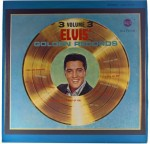 Elvis Presley - Elvis' Golden Records, Vol. 3 1963 GER Black Label