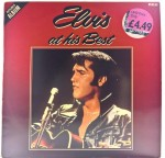 Elvis Presley - Elvis At His Best 1981 UK