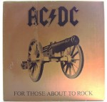 AC/DC - For Those About To Rock 1981 CAN
