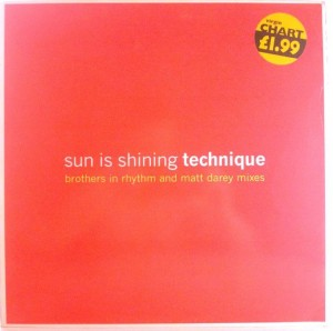 Technique - Sun Is Shining