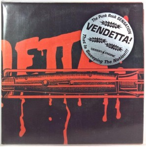 Vendetta - Ride On (numerowana, z autografem)