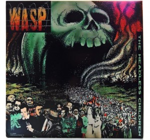 W.A.S.P. - The Headless Children 1989 US 1 PRESS (WASP)