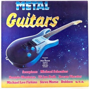 Various - Metal Guitars, Tablature Booklet