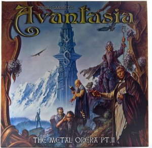 Tobias Sammet's Avantasia - The Metal Opera Pt II 1 PRESS 2011 GER