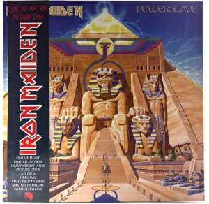 Iron Maiden - Powerslave Picture Limited Ed. 2013