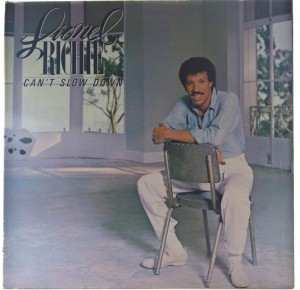 Lionel Richie - Can't Slow Down 1983 GER
