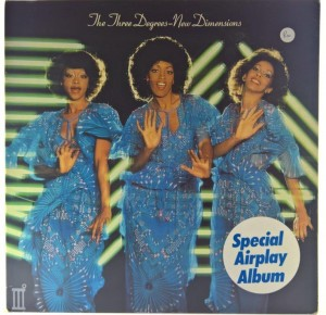 Three Degrees - New Dimensions 1978 UK