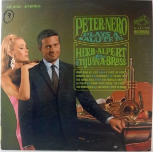 Peter Nero - Peter Nero Plays A Tribute To Herb Alpert & The Tijuana Brass
