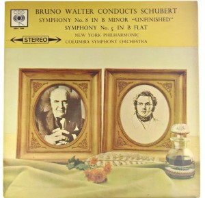 Bruno Walter - Schubert -  Symphony No. 8 1961 UK