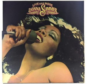 Donna Summer - Live And More 1978 GER Gatefold die-cut sleeve