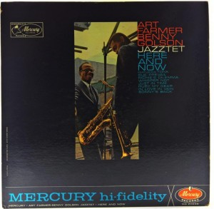 Art Farmer, Benny Golson Jazztet - Here And Now 1962 US PROMO
