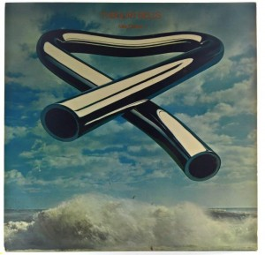 Mike Oldfield - Tubular Bells 1973 GER Red-White Virgin Twins Logo