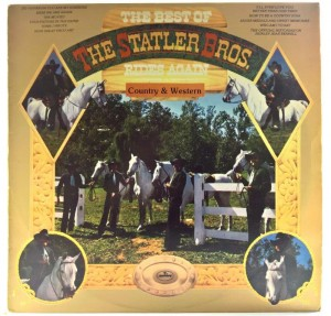 Statler Brothers - The Best Of The Statler Bros. Rides Again
