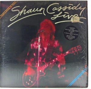 Shaun Cassidy - Live - That's Rock'N Roll + Plakat