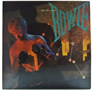 David Bowie - Let's Dance 1983 INDIA