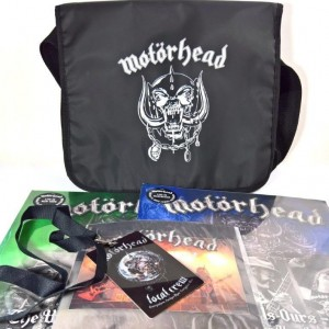 Motorhead ‎– Motor-Bag package - The World Is Ours - Vol 1 - Everywhere Further Than Everyplace Else