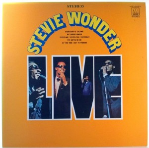 Stevie Wonder - Stevie Wonder Live (Japan press)
