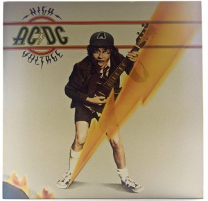 AC/DC - High Voltage 180g