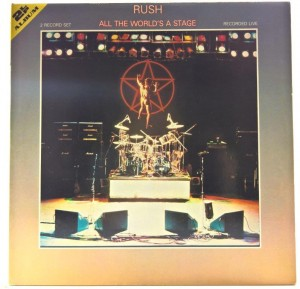 Rush - All The World's A Stage GER 1976