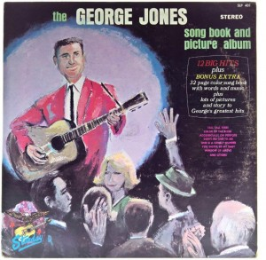 George Jones - The George Jones Song Book And Picture Album