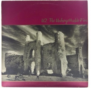 U2 - The Unforgettable Fire 1984 SCAN 1 PRESS