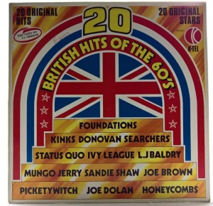 Various - 20 British Hits Of The 60's