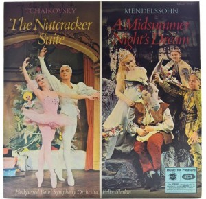 Felix Slatkin - Tchaikovsky/ Mendelssohn - The Nutcracker Suite , A Midsummer Night's Dream