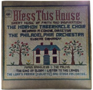 Mormon Tabernacle Choir - Bless This House 1966 UK