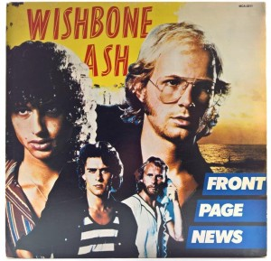Wishbone Ash - Front Page News 1977 SCAN