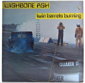 Wishbone Ash - Twin Barrels Burning 1983 FINLAND