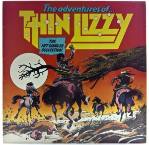 Thin Lizzy - The Adventures Of Thin Lizzy (The Hit Singles Collection) 1981 UK