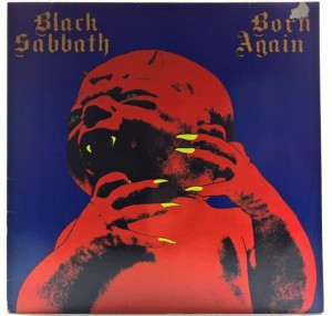 Black Sabbath - Born Again 1983 GER 1 PRESS