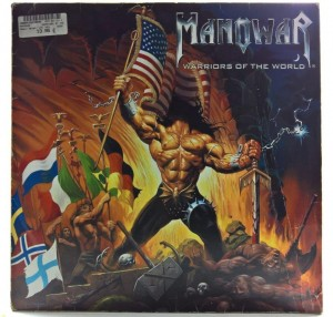 Manowar - Warriors Of The World 2002 GER 1 PRESS