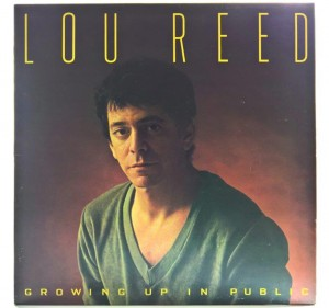 Lou Reed - Growing Up In Public 1980 FRANCE