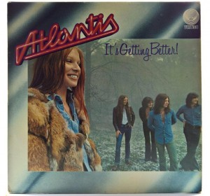 Atlantis - It's Getting Better 1973 GER 1 PRESS (Vertigo Swirl Label)