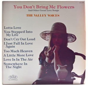 Valley Voices - You Don't Bring Me Flowers 1979 US