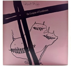 Robert Fripp / The League Of Gentlemen - The League Of Gentlemen  1981 SCAN
