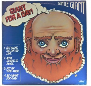Gentle Giant - Giant For A Day 1978 CANADA 1 PRESS