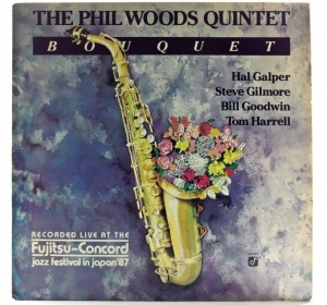 Phil Woods Quintet - Bouquet 1989 US Promo