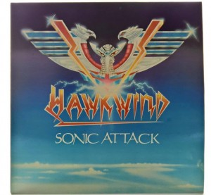 Hawkwind - Sonic Attack 1981 UK 1 PRESS
