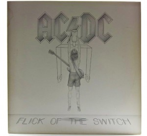 AC/DC - Flick Of The Switch 1983 GER Embossed