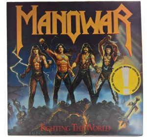 Manowar - Fighting The World 1987 HOL 1 PRESS