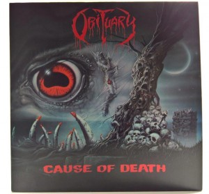 Obituary - Cause Of Death 1990 HOL 1 PRESS