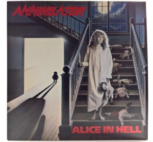Annihilator - Alice In Hell 1989 HOL