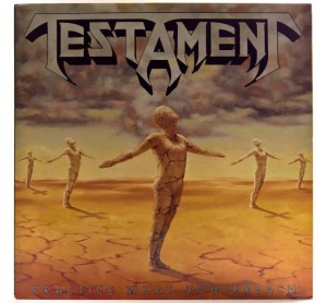 Testament - Practice What You Preach 1989 1 PRESS