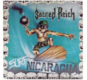 Sacred Reich - Surf Nicaragua 1988 HOL