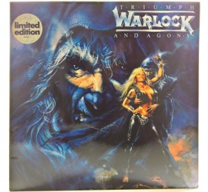 Warlock - Triumph And Agony 1987 GER Limited Ed.