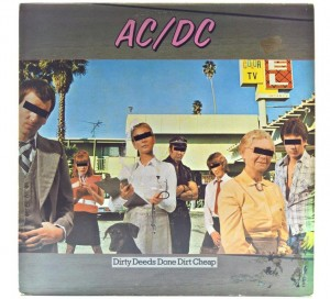AC/DC - Dirty Deeds Done Dirt Cheap 1982 GER
