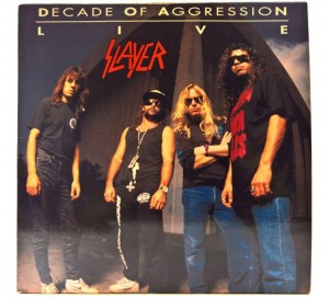 Slayer - Decade Of Aggression Live 1991 EU 1 PRESS