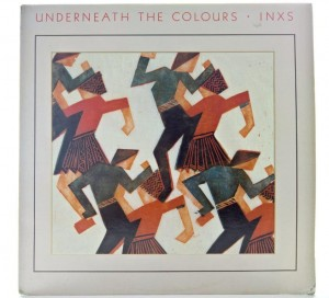 INXS - Underneath The Colours 1989 CANADA